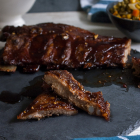 Sticky Oven Barbecue Spare Ribs