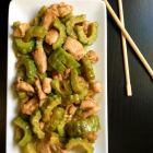 Chicken and Bittergourd Stir-Fry