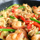 Scrambled Egg Shrimp Stir Fry