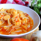 Guisadong Labanos with Shrimps