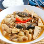 Ginataang Langka with Sardines