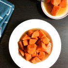 Sweet Potatoes in Honey Syrup