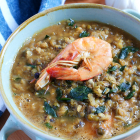 Ginisang Munggo with Shrimps
