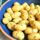Boiled Potatoes and Herbs