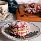 Red Velvet Crinkles Sandwich