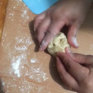 dough sealed