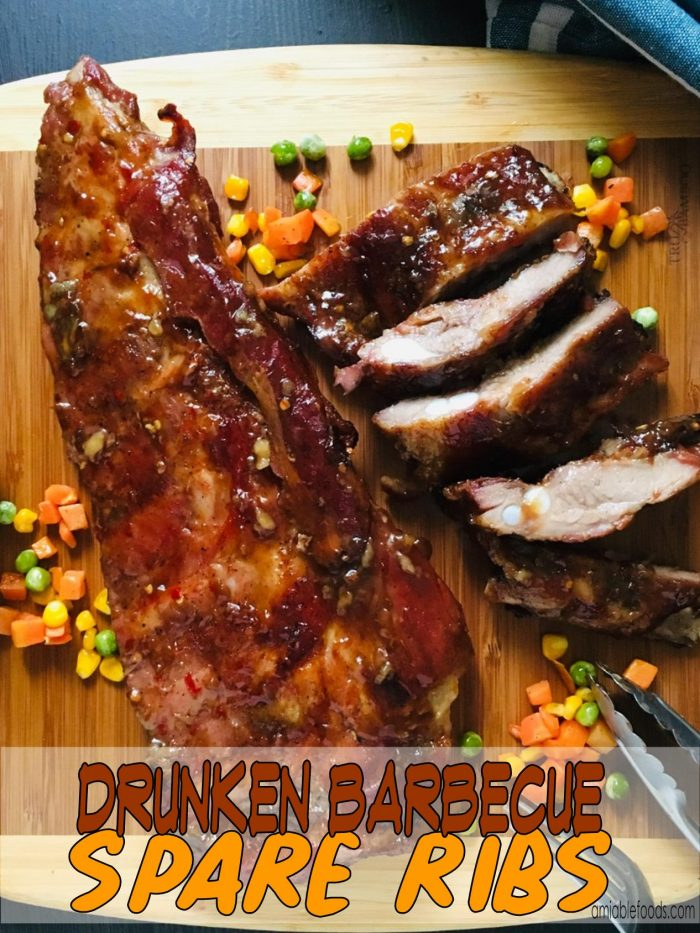 chopped barbecue ribs
