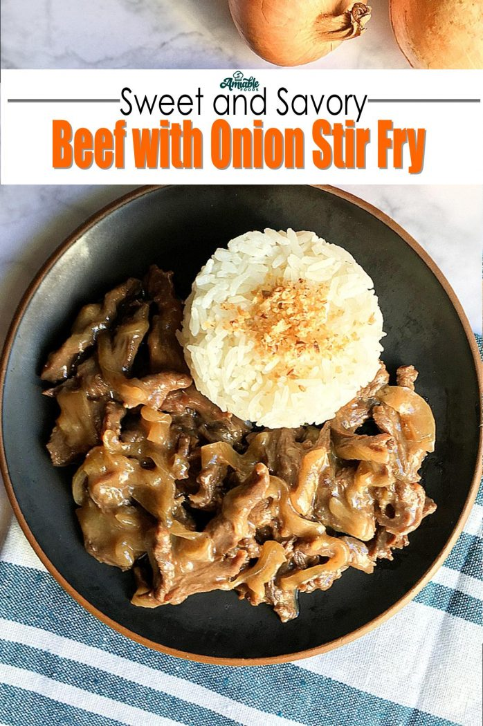 beef with onions stirfry pinterest