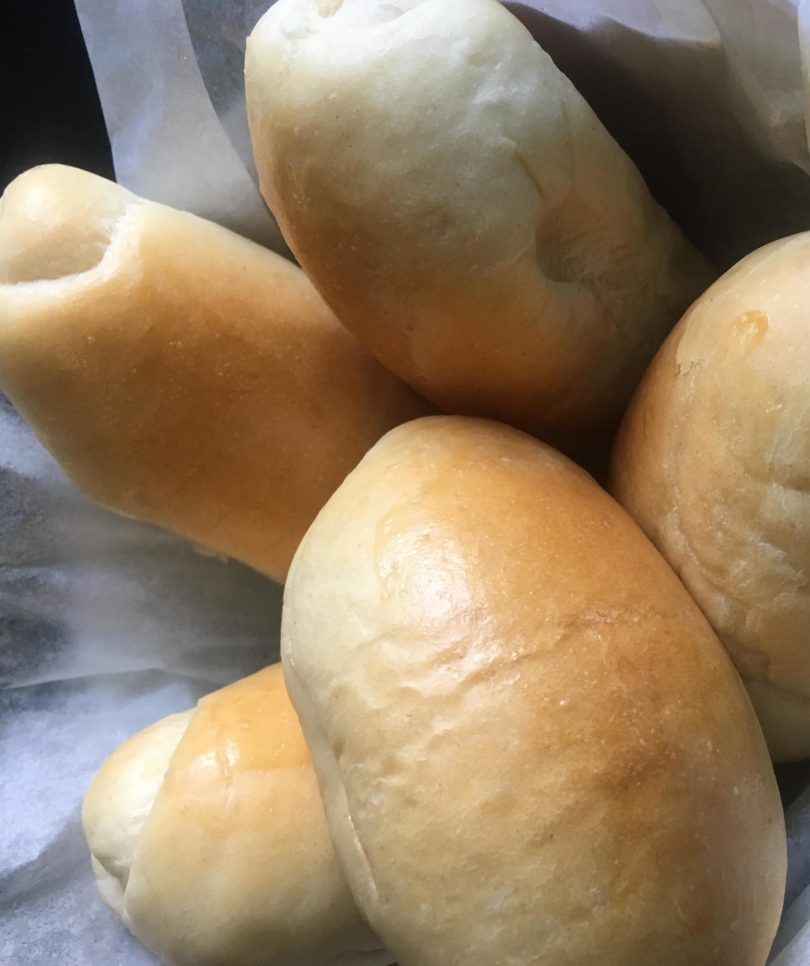 soft bread rolls