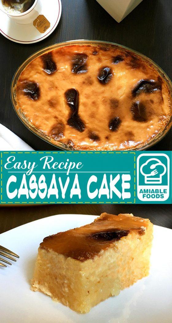 cassava cake pinterest
