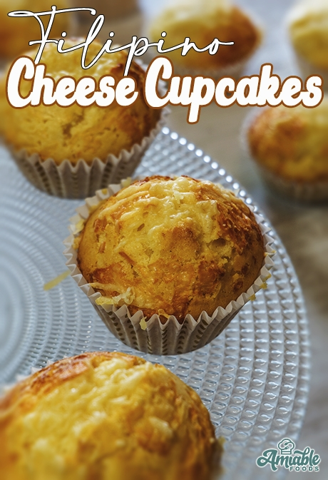 cupcakes in cupcake liners with cheese