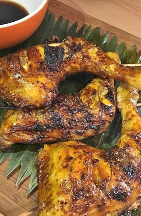 Grilled chicken inasal