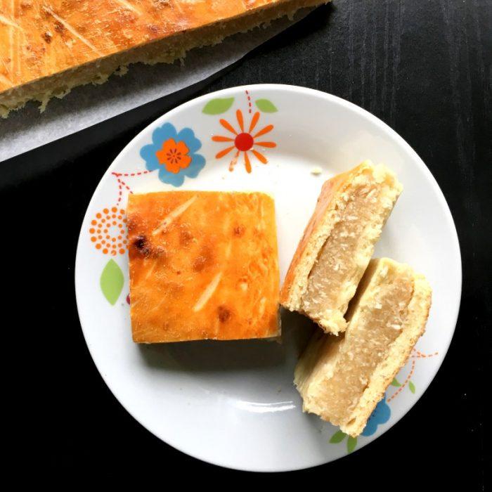 coconut pie slices