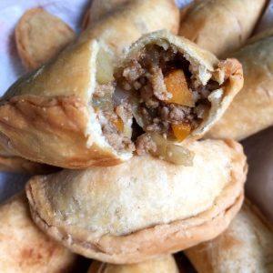 image recipe pork empanada