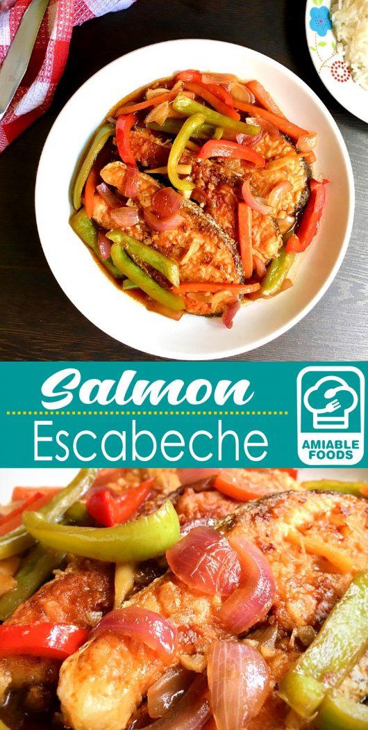 salmon escabeche pinterest