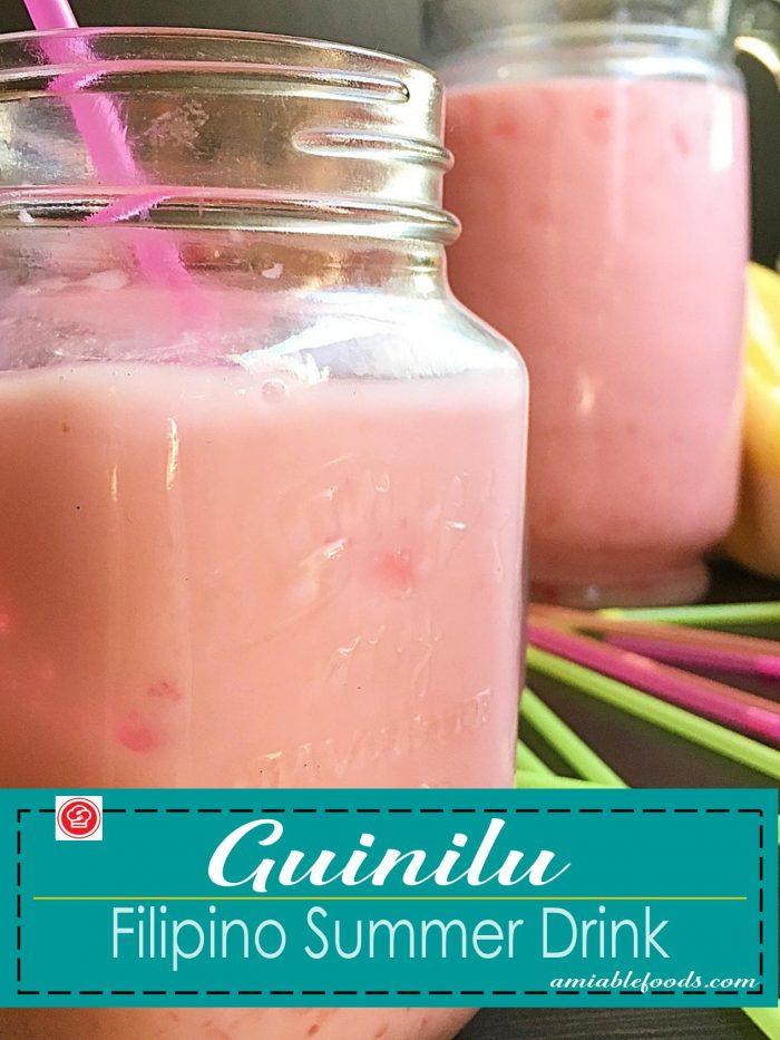 guinilu with straw