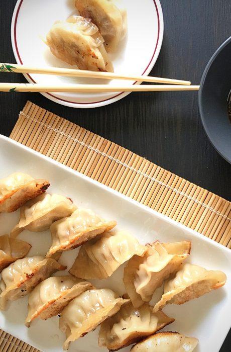 gyoza japanese fried dumplings