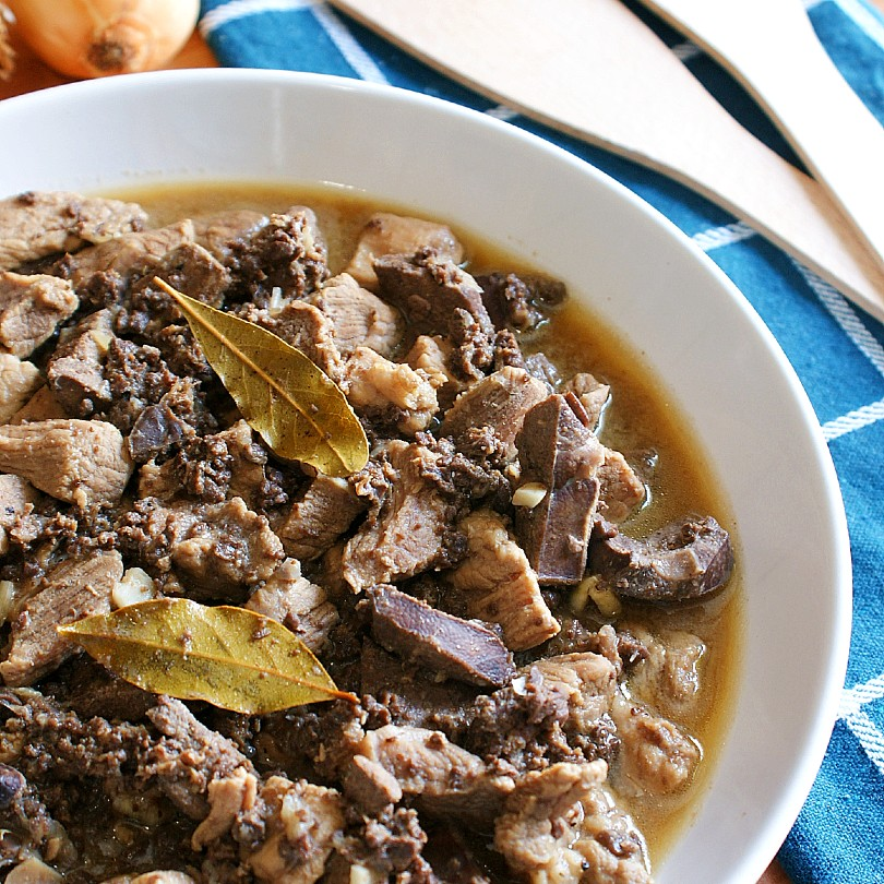 kilayin with pork lung and liver
