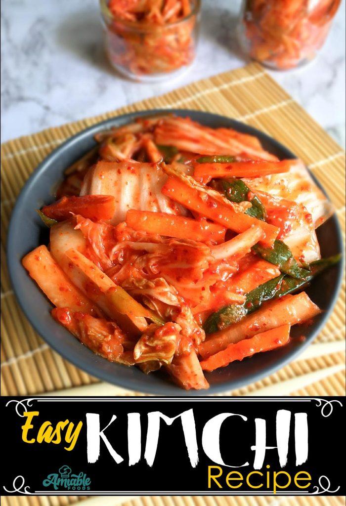 homemade kimchi pinterest image