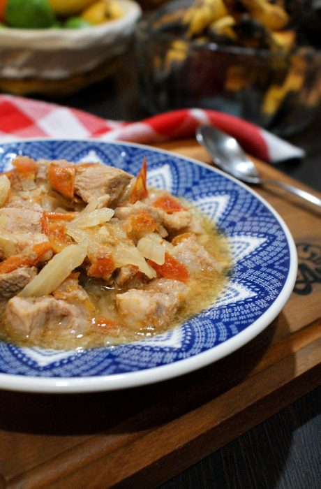 pork tomato stew