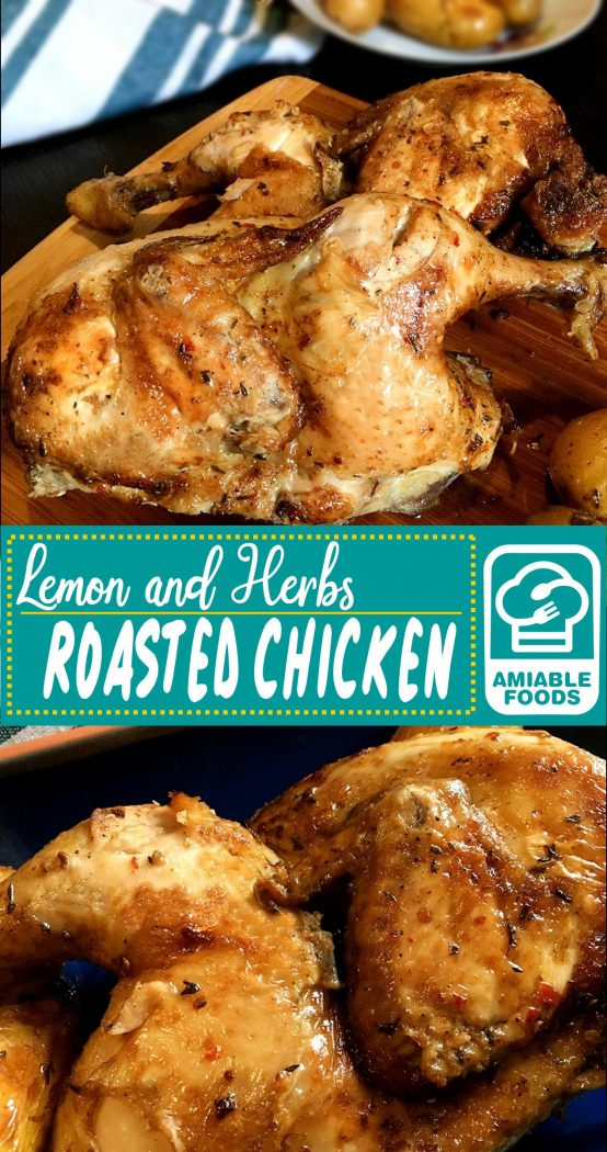 lemon herb chicken pinterest