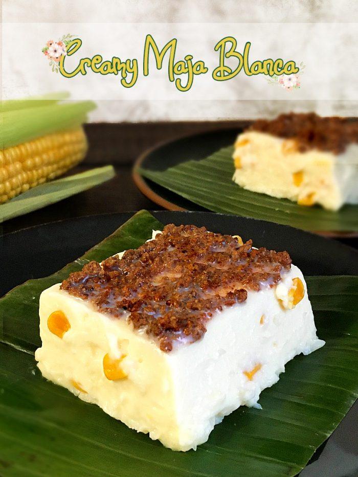 maja blanca creamy pudding