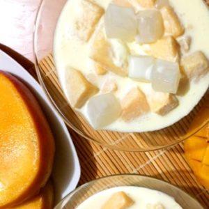 mango creamy dessert
