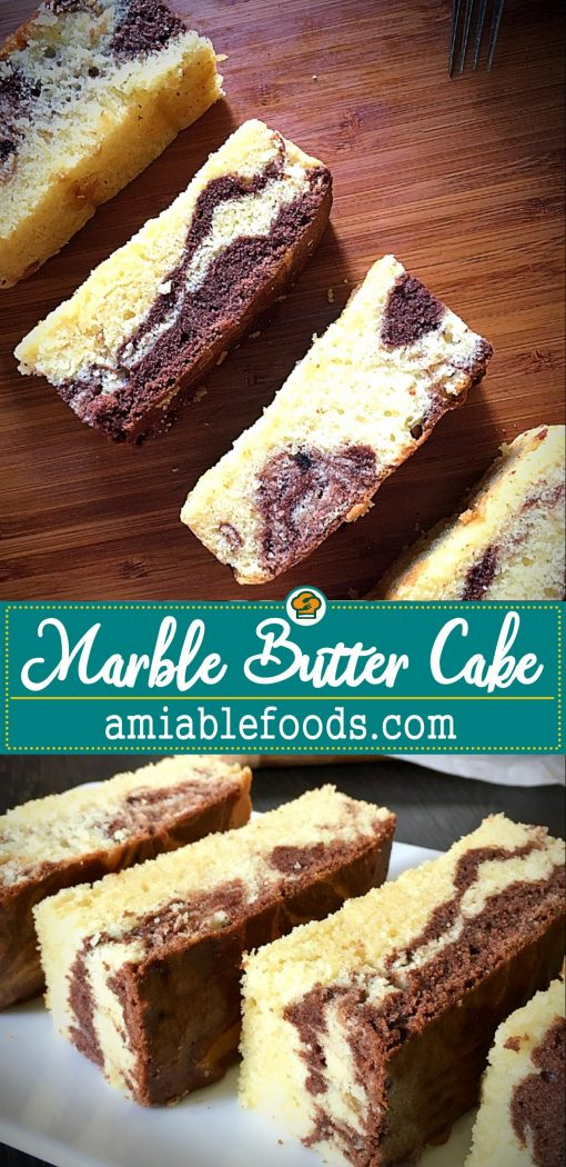 marble butter cake sweet and decadent