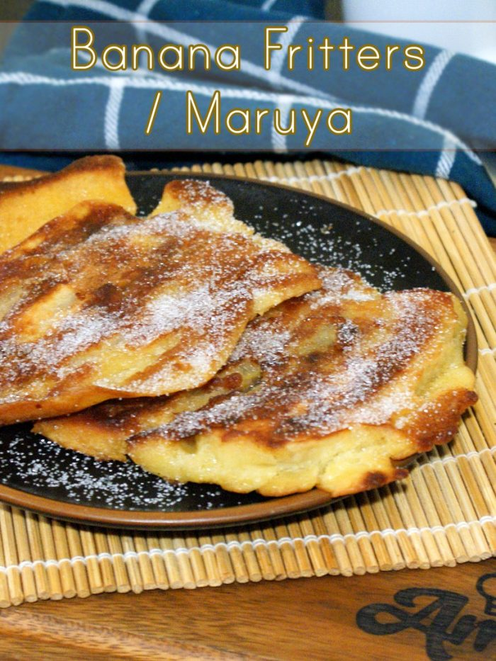 banana fritters on top of table