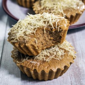 mini cakes with cheese