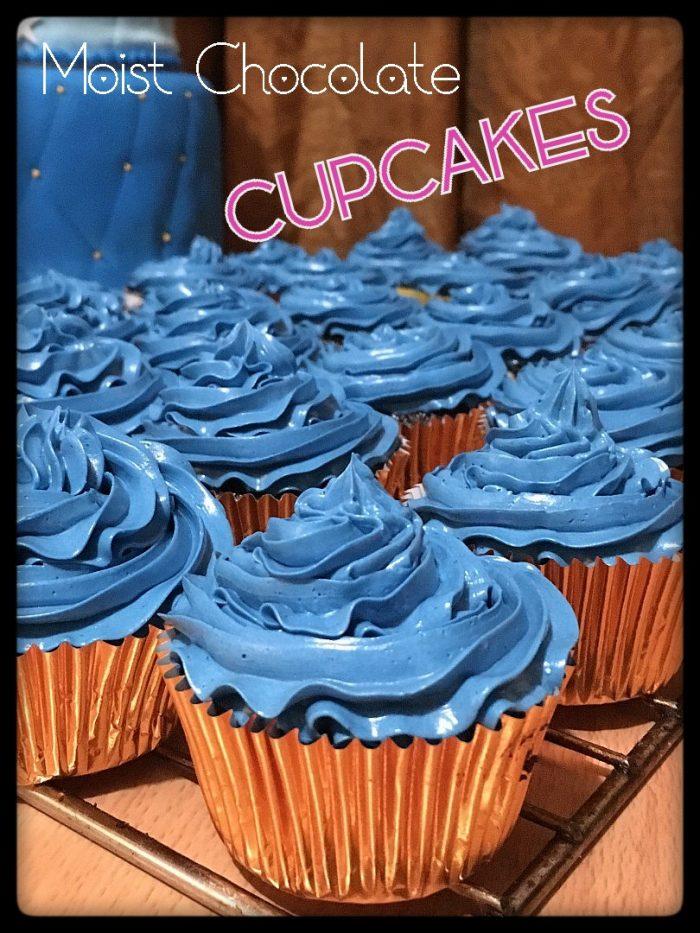 easy recipe chocolate cupcakes