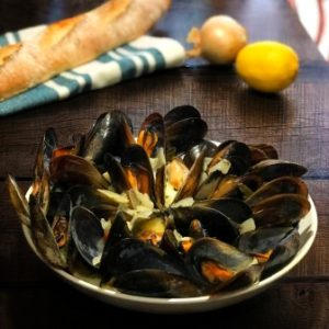 recipe image moules marinière