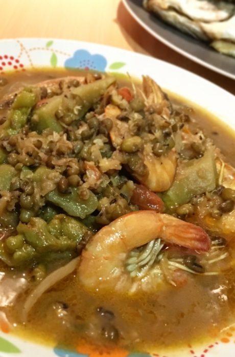monggo-guisado-shrimp
