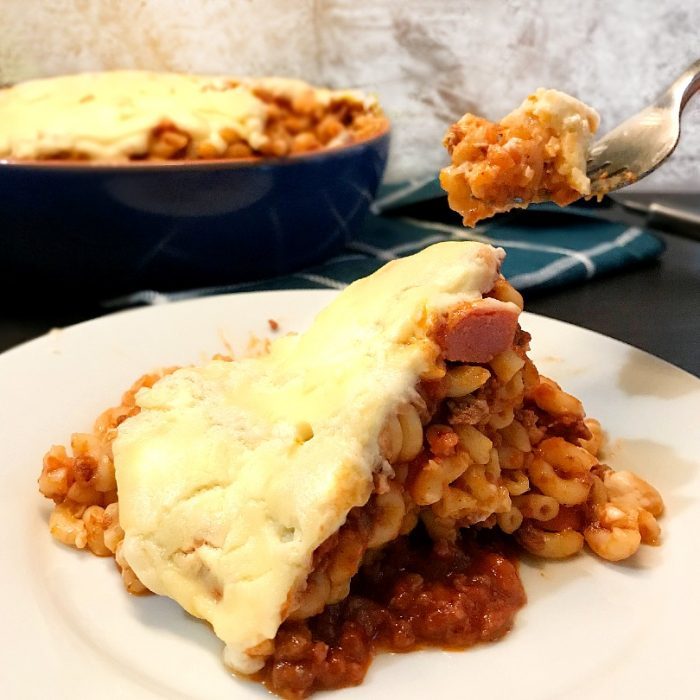 no bake macaroni with creamy sauce