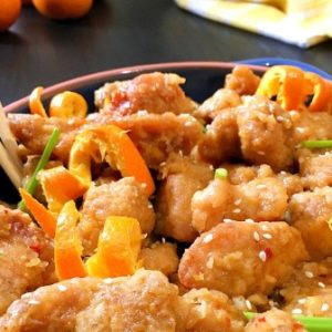 orange chicken recipe image