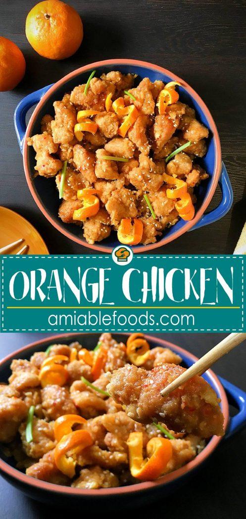 orange chicken pinterest