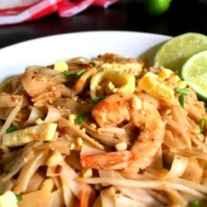 pad thai recipe image