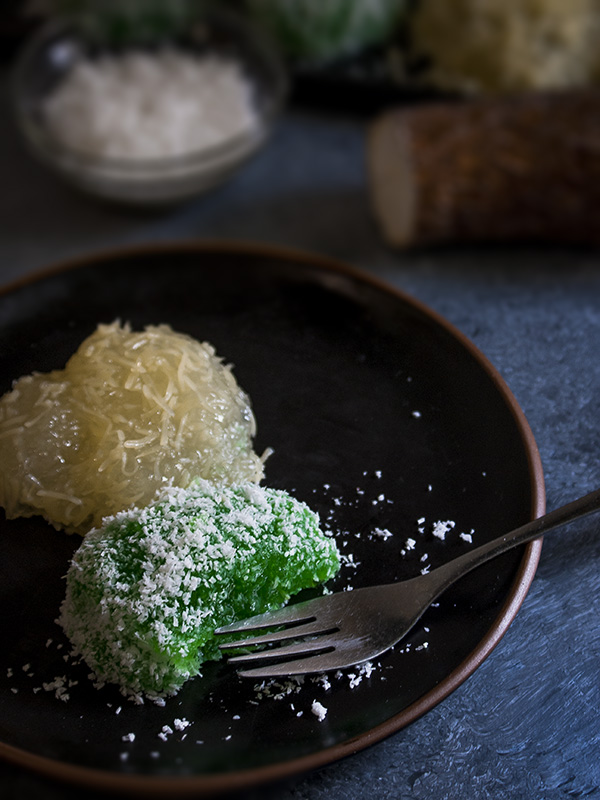 pichi pichi in a plate on a table
