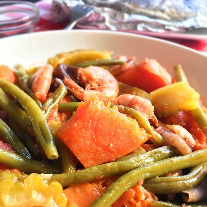 pinakbet in a bowl