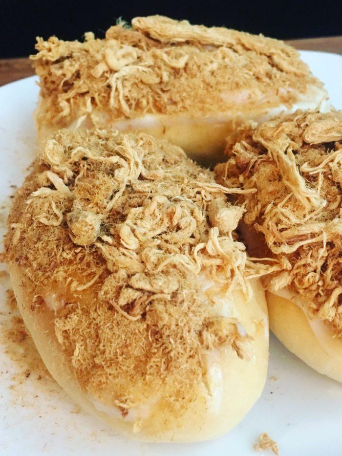 easy to bake pork floss buns