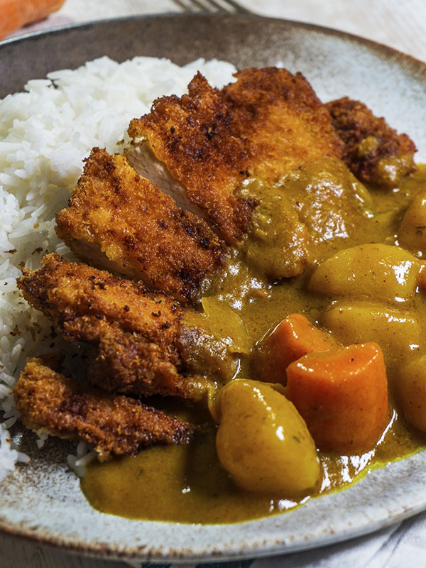 pork cutlets in a plate
