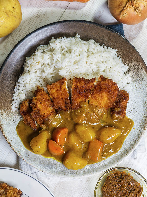 pork cutlets with rice