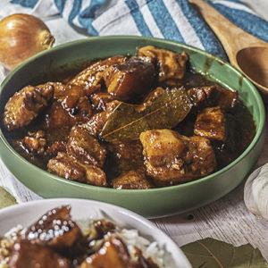 pork stew in a bowl