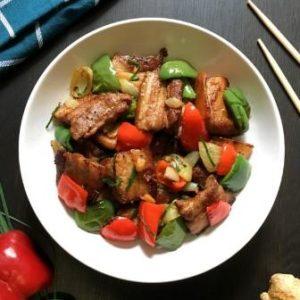 recipe image for pork stir fry
