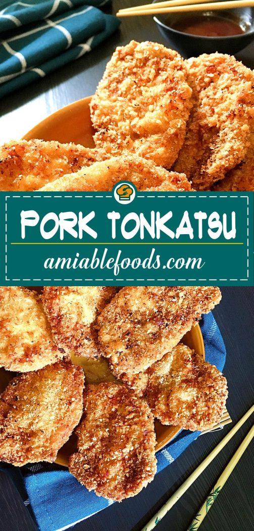 pork tonkatsu pinterest image