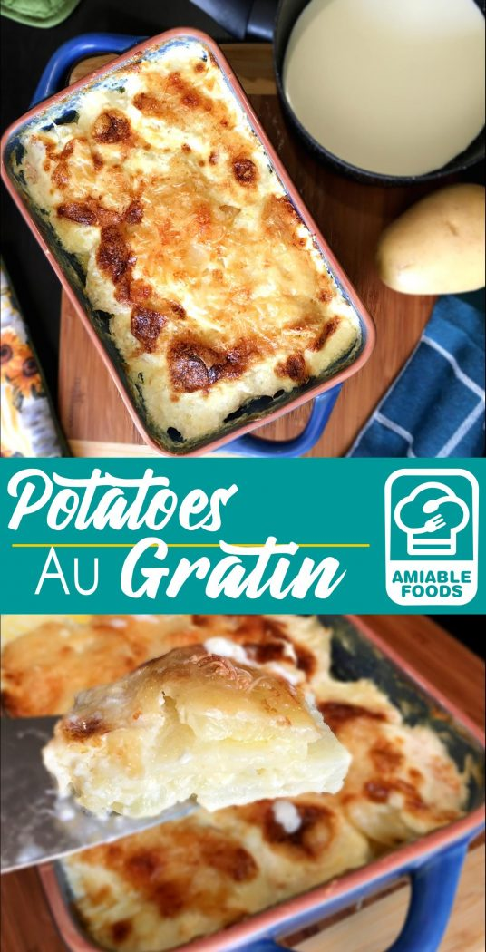 potatoes au gratin pinterest