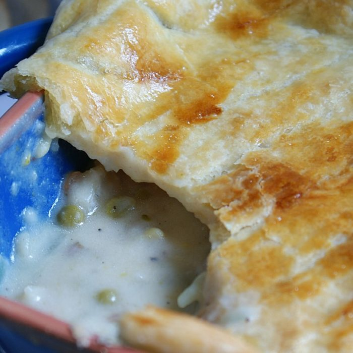 puff pastry used for fish pie