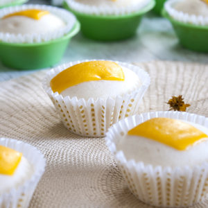cupcakes with cheese in cupcake liners