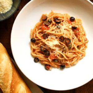 recipe image spaghetti alla puttanesca