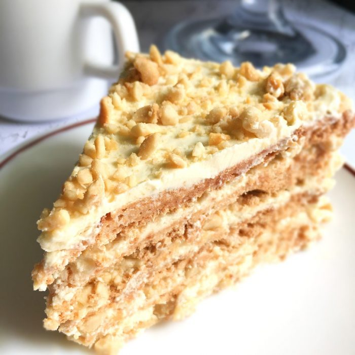 sans rival on a plate
